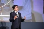 SAP 포럼 서울에서 기조 연설 중인 형원준 SAP 코리아 대표