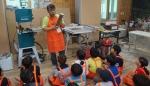 디랜드 협동조합이 12일 충북 단양 한드미 마을에서 지역 주민, 아동, 청소년 등 약 130명을 대상으로 찾아가는 목공학교를 진행했다