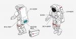 NASA 우주복용 배터리 일러스트