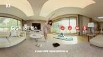 KT의 모델 배우 김지원이 GiGA IoT 헬스의 대표 상품인 골프퍼팅, 바이크, 체지방계 플러스를 사용하고 있다