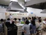 영천 향토음식 계승 활성화 교육이 교육생들의 적극적인 참여로 성공적으로 진행되고 있다