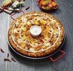 피자에땅에서 신메뉴 하니퐁듀 빠에야 2종이 출시됐다