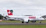 봄바디어의 C시리즈 항공기, 스위스국제항공이 공식 상업운항 시작