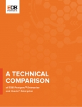 엔터프라이즈DB, 오라클 DBMS 성능 비교 기술백서