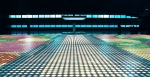 LG전자가 18,072개의 전구로 완성해, 가장 큰 전구 이미지로 기네스 인증을 받은 전구 아트
