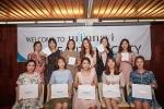 미나비 뷰티 소사이어티 1기 회원들인 아나운서들