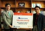 (좌측부터)열매나눔인터내셔널 오대식 대표이사와 신한다이아몬드공업 김신경 대표