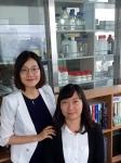 정지혜 교수(왼쪽)와 이성주 박사