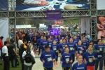 23일(현지시간) 멕시코시티 승마 경기장에서 열린 나이트 런 행사에 약 2500여명 소비자가 참석해 성황을 이루었다
