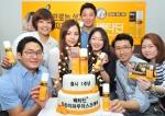 한국먼디파마 베타딘드라이파우더스프레이 출시 1주년 기념식