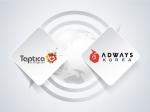 애드웨이즈 코리아가 엔드투엔드 모바일 광고 기업 탭티카코리아와 국내서 해외로 진출하는 모바일 개발사들의 글로벌 마케팅 캠페인 지원을 위한 전략 파트너십을 체결했다