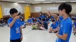 2015년 올림픽수화캠프가 열리고 있다
