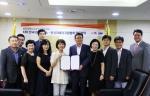 KMI 한국의학연구소와 (사)한국피해자지원협회가 서울시 광화문에 위치한 KMI 재단본부에서 범죄 피해자 보호와 지원을 위한 업무협약을 체결했다