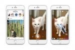 인스타그램 스토리는 왼쪽 사진처럼 피드 상단에 프로필 사진이 원형 모양으로 나타난다. 새로운 인스타그램 스토리가 올라오면 프로필에 다양한 색의 링이 추가된다. 오른쪽 사진처럼 그림을 그리거나 문구를 추가할 수 있는 꾸미기 옵션이 제공된다.