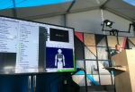 구글 IO에서 Pepper용 안드로이드 SDK 발표하는 소프트뱅크 로보틱스사