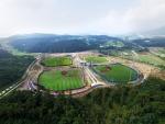 현대자동차가 부산 기장군과 조성한 국내 최대 규모의 사회인 야구장 기장-현대차 드림볼파크의 준공식이 10일 야구 테마파크에서 열린다