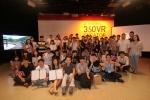 LG유플러스는 12일 서울 상암동 채널A스튜디오에서 2016 KOREA 360VR Creator 챌린지 시상식을 개최했다