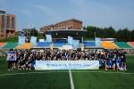 코리아텍(한국기술교육대학교) 학생 60명은 김기영 총장과 함께 17일 오전 대운동장에서 2016 KOREATECH 국토대장정 발대식을 갖고 제주로 출발했다