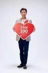 인체조직기증 공익광고를 촬영 중인 박상원