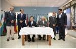 동명대 오거돈 총장은 16일 세계해사법대학(International Maritime Law Institute: IMLI)과 아시아 최초로 MOU를 체결하고 상호 인력 정보의 교류, 해사법 및 국제물류 분야에 대한 공동연구 및 교육 프로그램 개발 등에 대한 협력방안에 합의했다