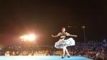 20일 한강 세빛섬에서 제2회 서울스토리 패션쇼가 개최됐다
