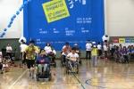 성남시 한마음복지관이 개관 5주년을 기념해 한마음 가족운동회를 열었다
