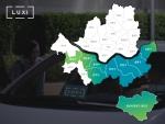 럭시가 서울 관악구, 동작구, 영등포구, 양천구, 강동구와 성남 분당, 판교 지역으로 출발지를 확대한다