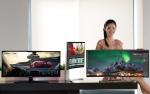LG전자가 30일 21:9 화면비로는 세계최대 크기인 38인치 울트라와이드 모니터를 공개했다