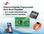 페어차일드가 오늘 스마트폰, 태블릿 및 기타 배터리 구동 휴대용 장치에서 사용되는 전원 공급 장치의 최첨단 디지털 방식의 프로그램이 가능한 벅 부스트 레귤레이터를 출시했다