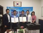 한국군사회복지사협회와 한국보건복지인력개발원 광주센터가 상호발전을 위한 업무협약을 체결했다