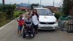 광주광역시교통약자이동지원센터, 중증장애인 고향 방문 차량 지원