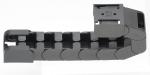틈새로 케이블을 눌러 삽입하게 되어 있어 케이블 포설이 매우 간편한 ZF14는 매끄러운 내부 윤곽은 장기간 사용해도 마모가 거의 없도록 케이블을 안전하게 보호해준다