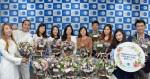 한국먼디파마 본사에서 진행된 희망 꽃바구니 행사에서 한국먼디파마 임직원들이 소아암 환자 및 가족들에게 전달할 꽃바구니를 제작하고 환자들을 방문해 마술 퍼포먼스를 선보이는 시간을 가졌다