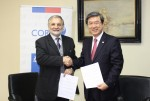 한국 중소기업의 중남미 시장 진출 지원을 위한 한-칠레 양국의 중소기업 전담부처간 1차산업 중심인 칠레의 제조업 성장 및 산업 다각화와 중남미 시장 공동진출을 목표로 양국이 보유한 장점들이 결합된 구체적인 협력이 본격화된다