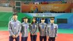2016청주세계무예마스터십에 참가한 호원대학교 선수단