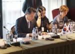 유라시아중앙예탁기관협의회에 참석하고 있는 한국예탁결제원 사장 유재훈