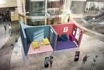 SSG닷컴이 23일부터 10월 9일까지 스타필드 하남 1층 아뜰리에에 쓱 광고세트를 재현한 SSG스튜디오를 선보인다