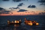 2016년 6월 23일 국경없는의사회의 구조팀이 지중해상에서 1139명을 구조했다, 사진 작가 Sara Creta
