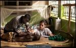 우간다 자이피병원에서 치료받고 있는 남수단 난민, 사진 작가 Matthias Steinbach