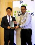 SK텔레콤은 27일(현지시간) 싱가포르에서 열리고 있는 '5G & LTE 아시아 어워즈 2016'에서 '5G 연구 최고 공헌상'과 '5G 연구발전 협력상'을 수상했으며, 같은 날 독일에서 개최된 'RANNY어워즈 2016'에서도 '최고 5G 선도' 상을 수상했다
