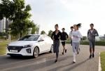 현대자동차가 마음껏 달리며 사회공헌도 할 수 있는 온·오프라인 연계 러닝 캠페인 아이오닉 롱기스트 런(IONIQ LONGEST RUN) 을 개최한다