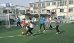 지역아동센터 아동들과 축구하는 사회복무요원