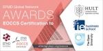 헐트국제경영대학원, IE경영대학원, 개방대학 경영대학원이 EOCCS로부터 코스를 인증받았다고 EFMD글로벌네트워크가 발표했다