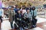 장애인먼저실천운동본부와 마스터봉사회가 근육장애인의 소원 만들기 행사를 개최했다