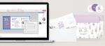비즈하우스는 고객이 직접 디자인하여 청첩장, 봉투, 스티커를 만들수 있다