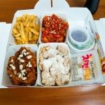 4가지맛 두마리 치킨인 4계절 치킨
