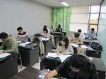 한국기술개발협회가 제8회 기업 R&D 지도사 자격검정시험 1차 필기시험을 진행하고 있다