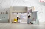 퍼시스 그룹의 생활 가구 전문 브랜드 일룸이 아이들에게 비밀스러운 첫 독립공간을 선사하는 키즈 가구 캐빈 시리즈를 선보인다