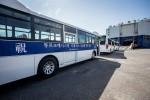 현대자동차가 지난 6월 현대종합상사와 함께 투르크메니스탄과 맺은 대형버스 500대 공급 계약 물량 중 초도물량인 80대를 선적 개시했다
