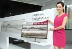 LG전자가 18일 21:9 화면비로는 세계최대 크기인 38인치 울트라와이드 모니터를 국내 시장에 출시했다.